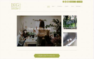 Launching a website: www.biglittlethings.co.uk